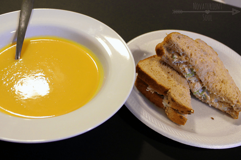 Try this comfortingly delicious & healthy recipe for Butternut Squash Soup today! - NovaturientSoul.com