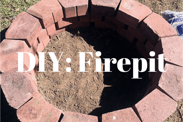Learn how to easily build your own firepit (& on a budget!) with this DIY tutorial from NovaturientSoul.com!